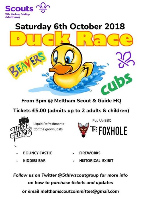 Meltham Duck Derby